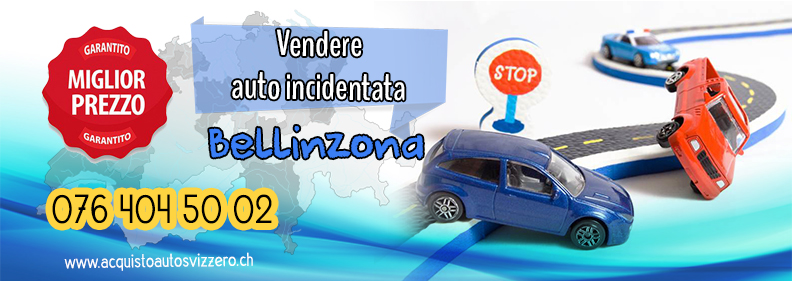 Vendere auto incidentata in Bellinzona